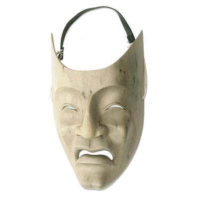 Modern Theatrical Wood Mask