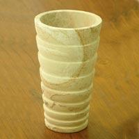 Sandstone vase,