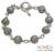 Sterling silver bracelet, 'Lace Baubles' - Sterling Silver Link Bracelet from Indonesia thumbail