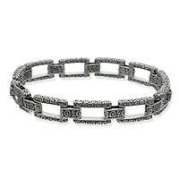 Sterling silver link bracelet, Complexity