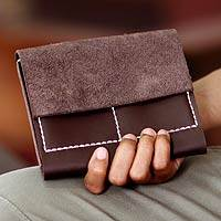 Leather Wallet, 'versatile Brown' Picture