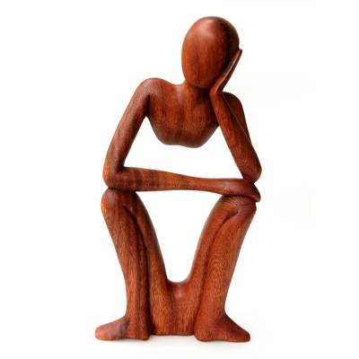 Handcrafted Indonesian Wood Sculpture