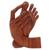 Wood statuette, 'Take Action' - Artisan Crafted Wood Sculpture (image 2c) thumbail