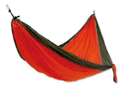 Parachute hammock, 'Summer Dreams' (single) - Handcrafted Portable Parachute Fabric Hammock (Single)
