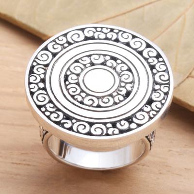 big sterling silver rings