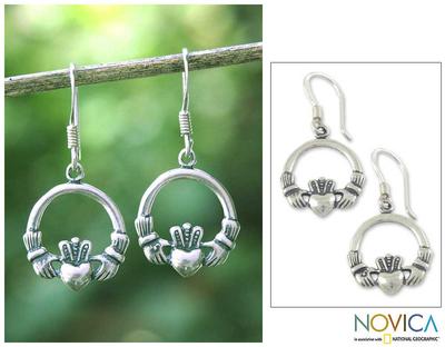 unicef uk market sterling silver earrings from