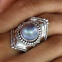 Featured review for Cultured pearl cocktail ring, Faithful