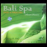 Audio CD, 'Bali Spa Piano and Angklung' - Meditation Yoga Music Audio CD