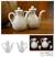 Ceramic oil and vinegar set, 'White Minimalism' (pair) - Ceramic oil and vinegar set (Pair) thumbail
