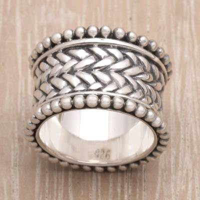 silver rings costume jewelry brands - Hand Made Sterling Silver Band Ring