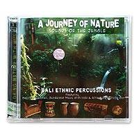 Audio CD, 'A Journey of Nature' - Audio CD World Music with Jungle Sounds