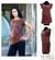 Cotton tunic, 'Side Cinch Brown' - Cotton Knit Tunic thumbail