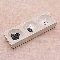 Soapstone karma counter,