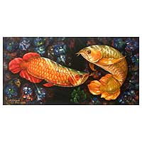 'Nimble' - Realist Fish Painting