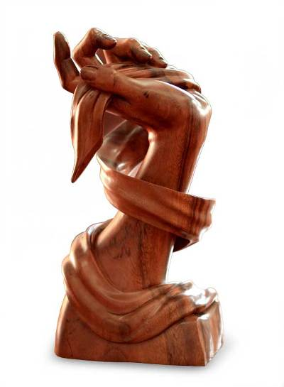 Original Hand Carved Wood Sculpture