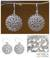 Sterling silver filigree earrings, 'Chrysanthemum' - Sterling Silver Earrings from Indonesia thumbail