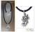 Men's sterling silver and leather necklace, 'Lucky Dragon Fish' - Men's Sterling Silver Pendant Necklace thumbail