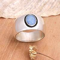 Opal band ring, 'Desire' - Opal band ring