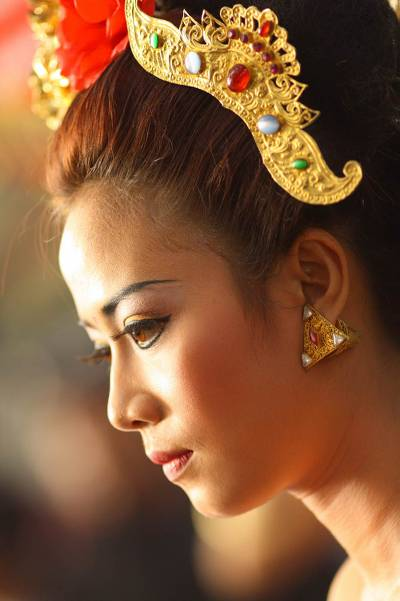 'Beauty of a Balinese Woman'