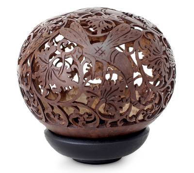 Handmade Coconut Shell Carving