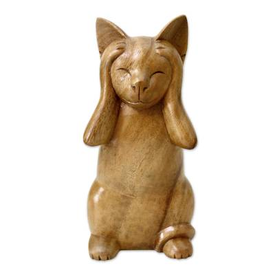 Wood Animal Sculpture