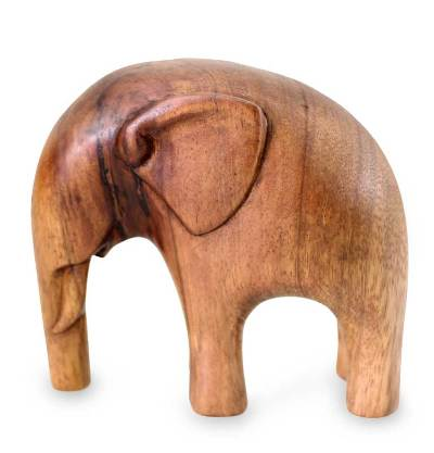 Artisan Crafted Wood Sculpture