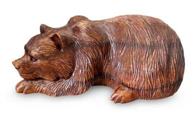 Hand Crafted Animal Sculpture