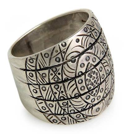 Handcrafted Sterling Silver Band Ring