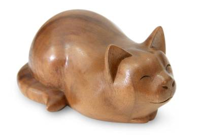 Carved Wood Animal Sculpture