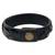 Men's distressed leather bracelet, 'Java Journeys' - Men's Unique Leather Wristband Bracelet (image 2c) thumbail