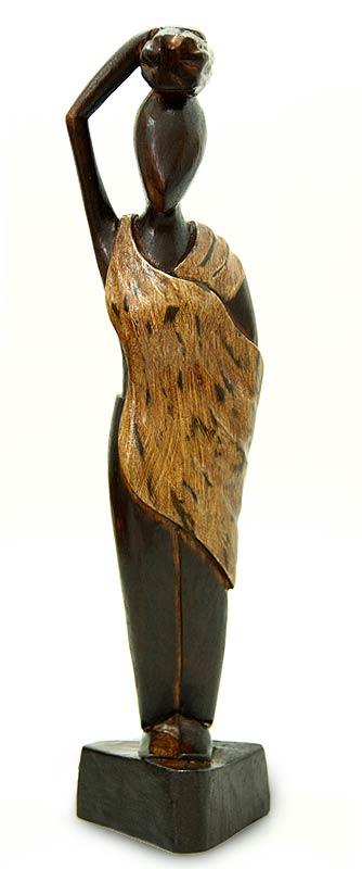 Fair Trade Cultural Wood Sculpture