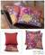 Cotton cushion covers, 'Ubud Fire' (pair) - Cotton cushion covers (Pair) (image 2) thumbail