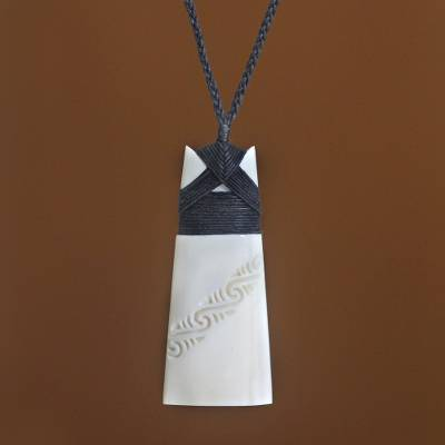 Pendant necklace, 'Peace and Stillness'