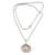 Cultured pearl pendant necklace, 'Oyster Secrets' - Hand Made Pearl and Sterling Silver Pendant Necklace (image 2c) thumbail