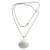 Cultured pearl pendant necklace, 'Oyster Secrets' - Hand Made Pearl and Sterling Silver Pendant Necklace (image 2d) thumbail