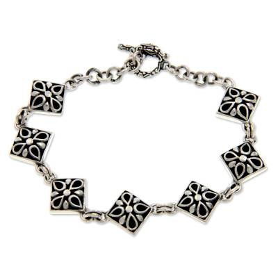 Sterling Silver Link Bracelet from Indonesia