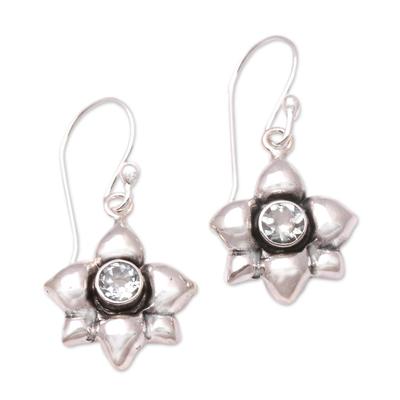 Hand Crafted Aquamarine Dangle Earrings