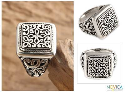 ring doorbell installation - Artisan Crafted Sterling Silver Signet Ring
