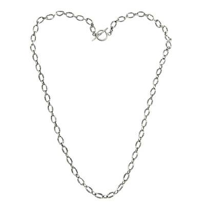 Fair Trade Sterling Silver Chain Necklace