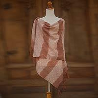 Cotton batik shawl,