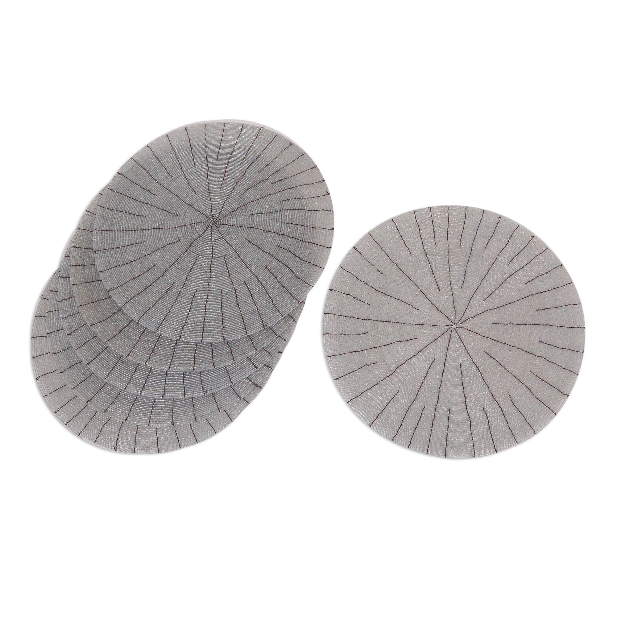 unicef uk market beaded placemats set of 6