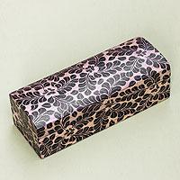 Wood batik decorative box,
