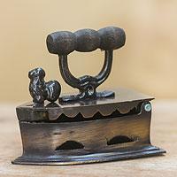 Brass statuette Grandma s Iron Indonesia
