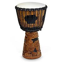 Mahogany jambe drum,