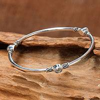 Rainbow moonstone bangle bracelet,
