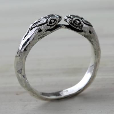 Snake Jewelry for Women Sterling Silver Wrap Ring