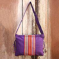 Cotton sling bag,