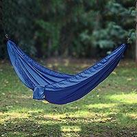 Parachute hammock Uluwatu Navy Blue double Indonesia