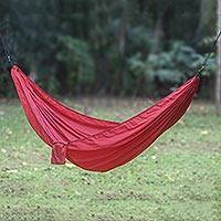 Parachute hammock Uluwatu Wine single Indonesia