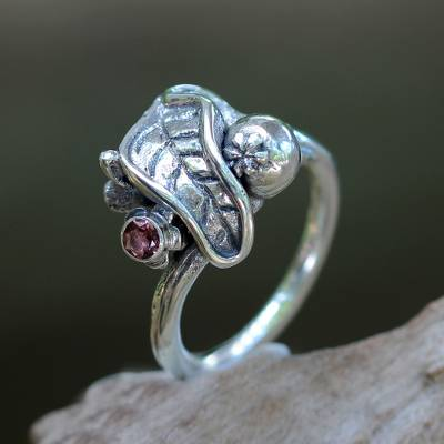 an emerald ring fanfiction - Artisan Crafted Tourmaline and Silver Ring